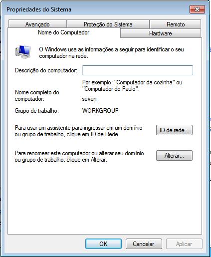 Ingressar Windows 7 no domínio samba 4 |